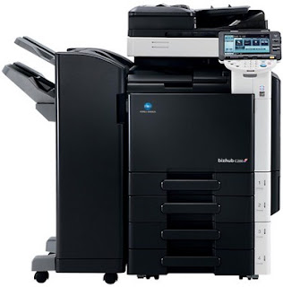 Exit bizhub box has a capacity to accommodate  Konica Minolta C280 Drivers Printer Download