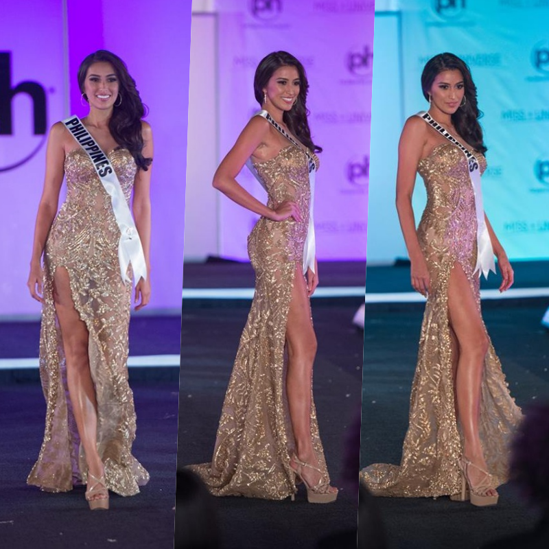 Image result for Miss Philippines Peters 66th Miss Universe 2017 evening gown