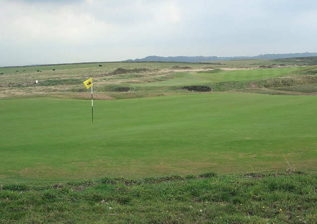 One of the Senior British Open golf courses is Royal Porthcawl in Wales