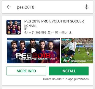 Pro evolution soccer 2018 (pea 2018)