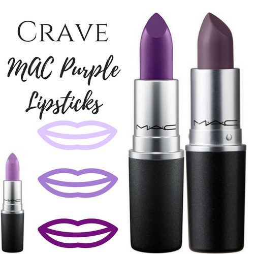 mac shades of purple lipstick
