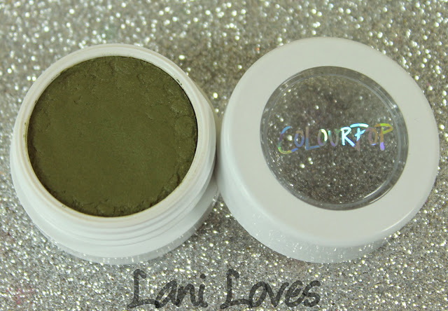 ColourPop Super Shock Shadow - Rebel Swatches & Review