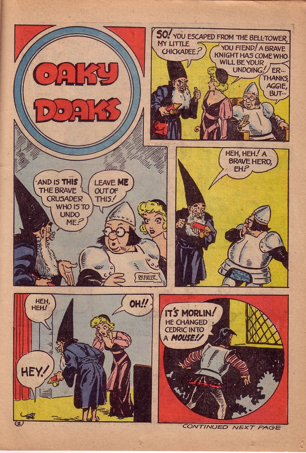 Read online Famous Funnies comic -  Issue #107 - 36