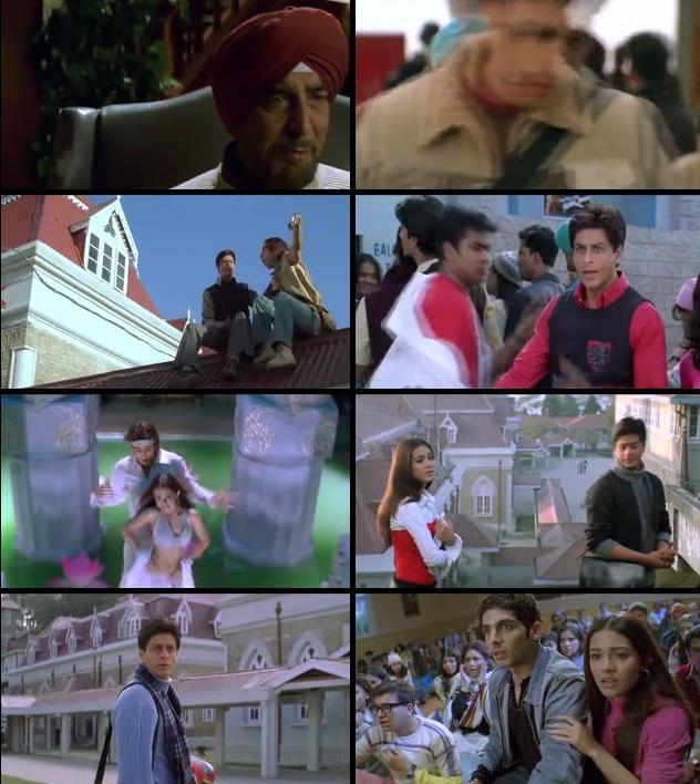 Main Hoon Na 2004 Hindi 480p HDRip 500mb