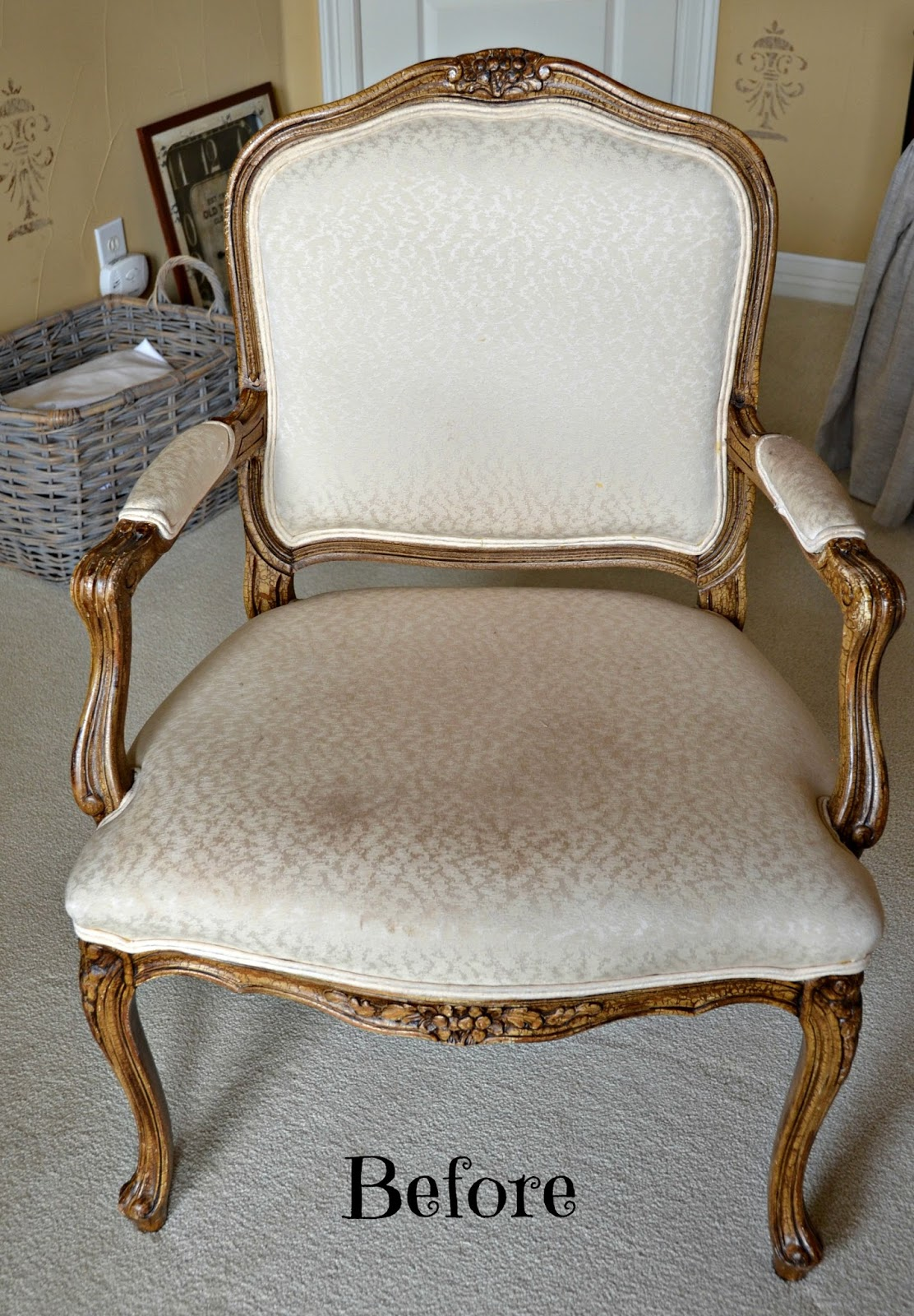 Upholstering a Chair  My Heart Lives Here
