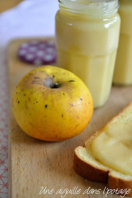Beurre de pommes au sirop d'érable