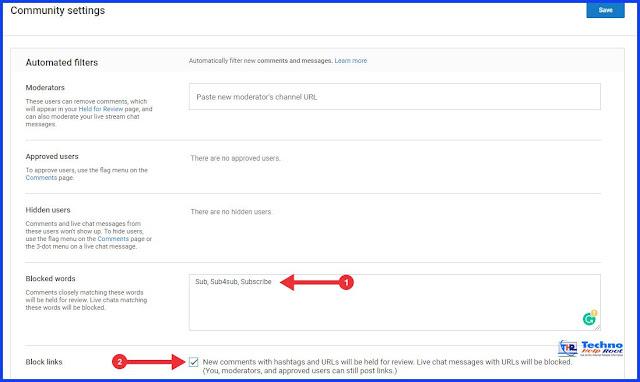 YouTube Comment Settings Full Guide