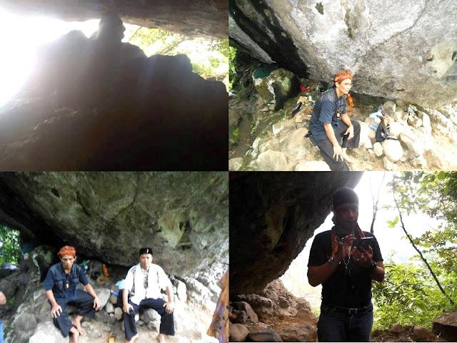 Batu Besar Di Puncak Gunung Sangkanjaya Bekas Patahan Batu Meteror?