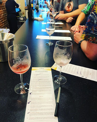 Wine tasting at LaBelle in Portsmouth