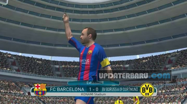 PES 2017 APK Obb Full Data v0.1 Terbaru Suport