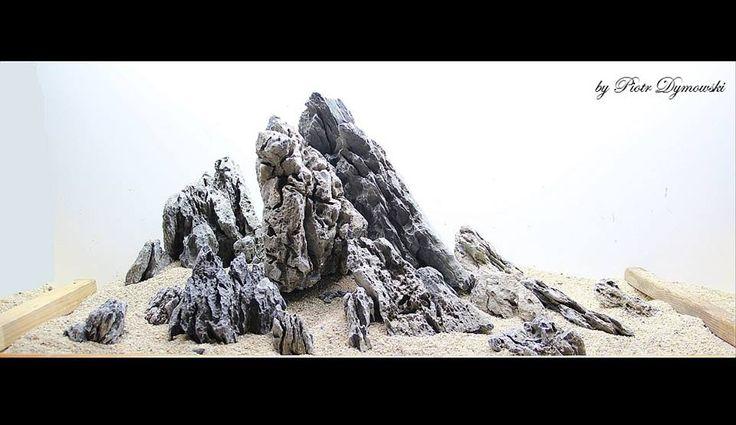đá da voi nhẹ, có vân được ua chuộng trong trang trí thủy sinh