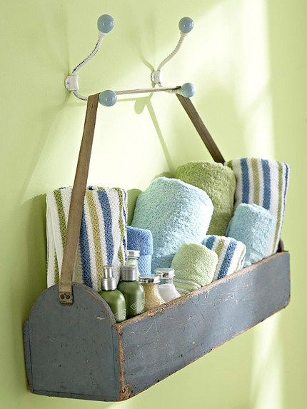 Bathroom basket, guest ideas, hostess ideas, guest room, guest basket