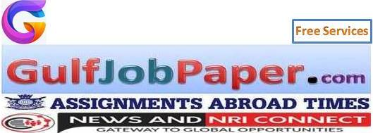 GulfJobPaper.com | Assignments Abroad Times | India's No 1 Job Site