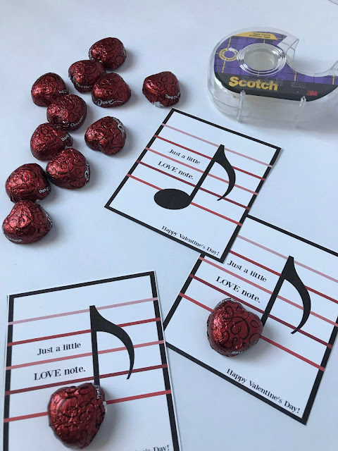 music love note printable valentines @michellepaigeblogs.com