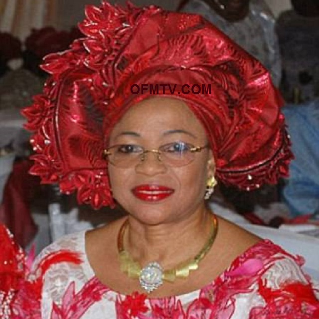 The richest black woman in the world, Nigerian oil tycoon Folorunsho Alakija