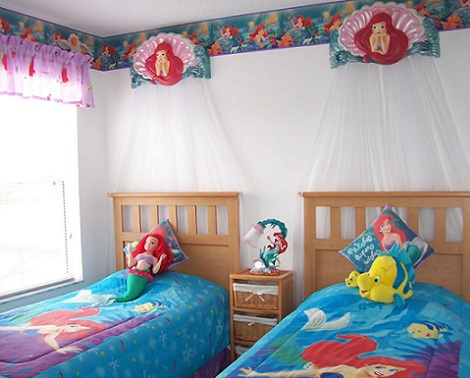 dormitorios tema sirenas ideas para decorar dormitorios