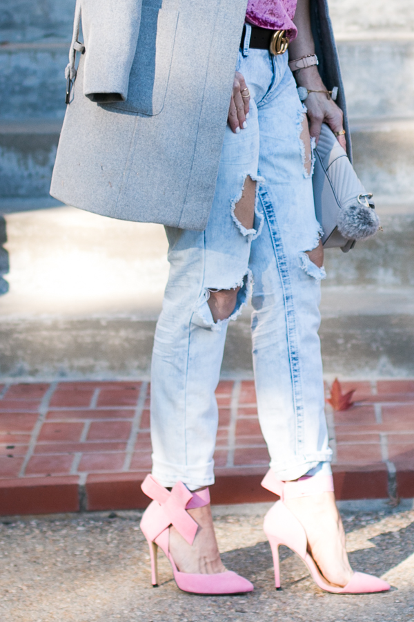 washed ripped denim jeans parlor girl