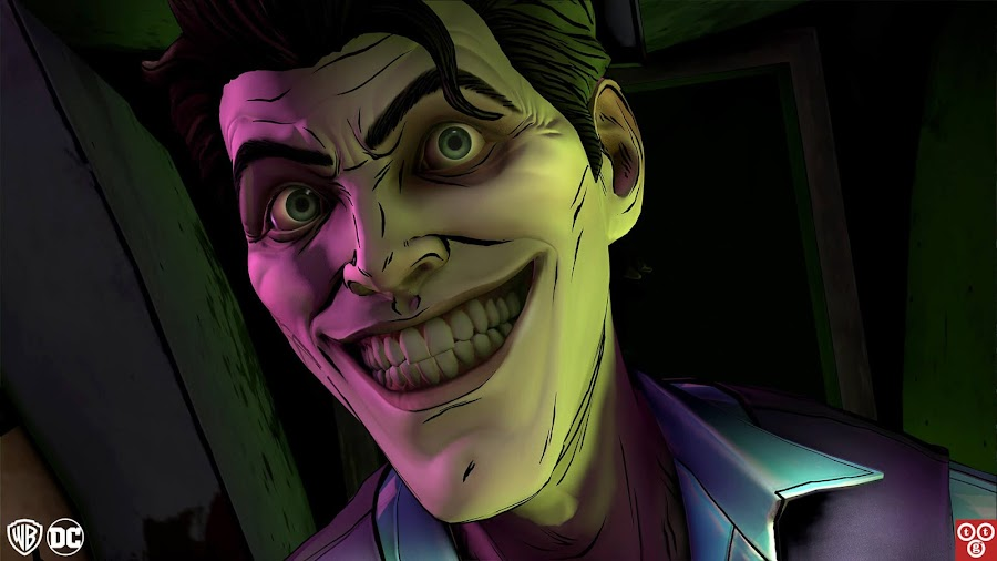 telltale batman joker favor
