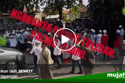 Detik-detik Menjijikan Banser Teriak di Pagar Masjid untuk Bubarkan Pengajian Ust. Felix, Padahal Murottal Qur'an Sedang Diputar