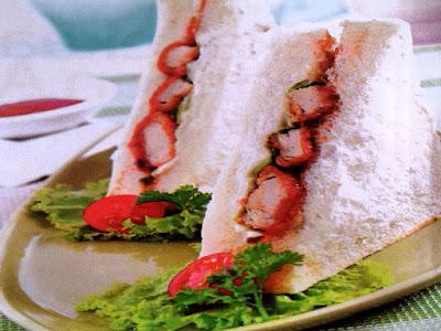 Gambar Resep Roti Ayam Katsu