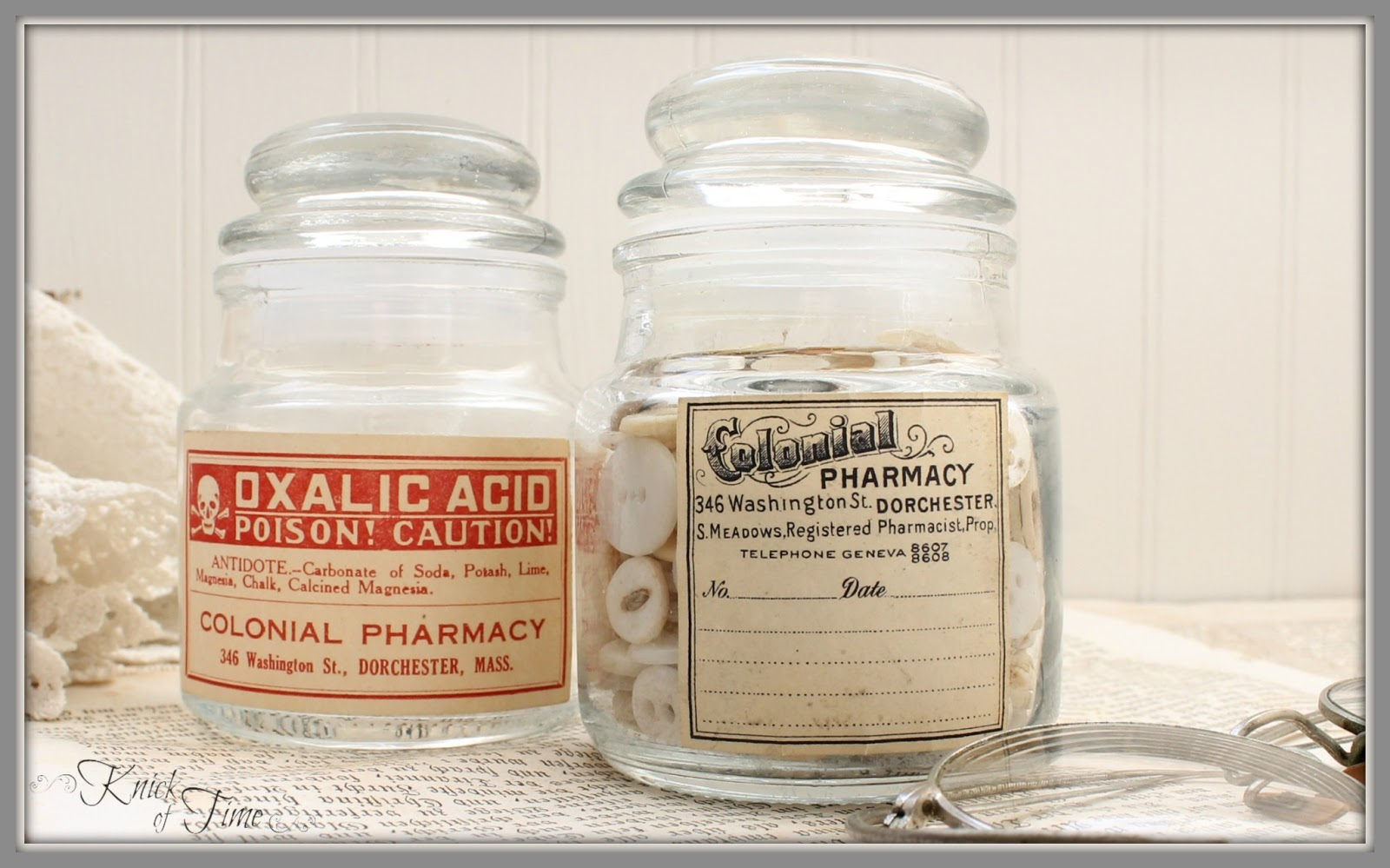 Knick Of Time Diy Apothecary Jars