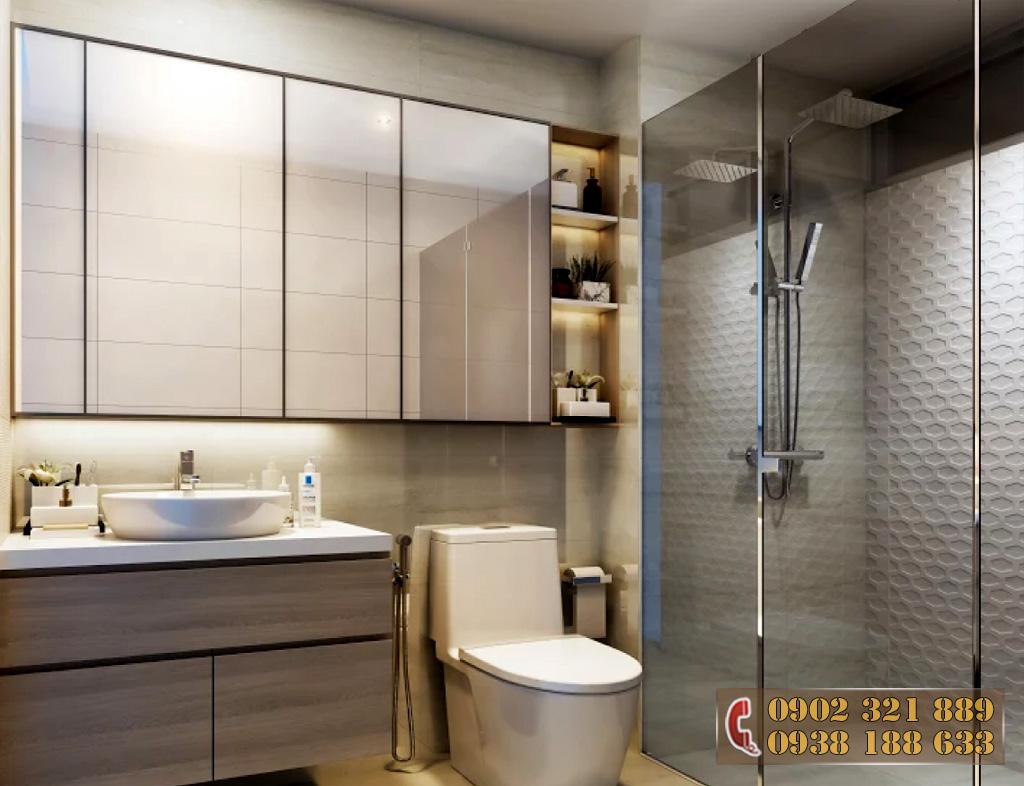 Nội thất căn hộ Kingdom 101 - Phòng ngủ căn hộ 3A