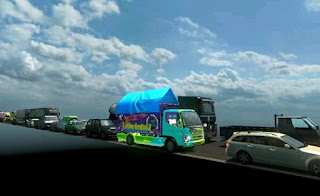 Mod Traffic Rasa Indonesia ETS2