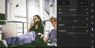Cara Menggunakan Efek Vintage di Lightroom CC Android