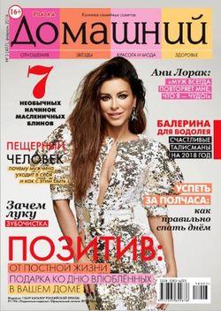 Читать онлайн журнал<br>Домашний (№3 2018)<br>или скачать журнал бесплатно