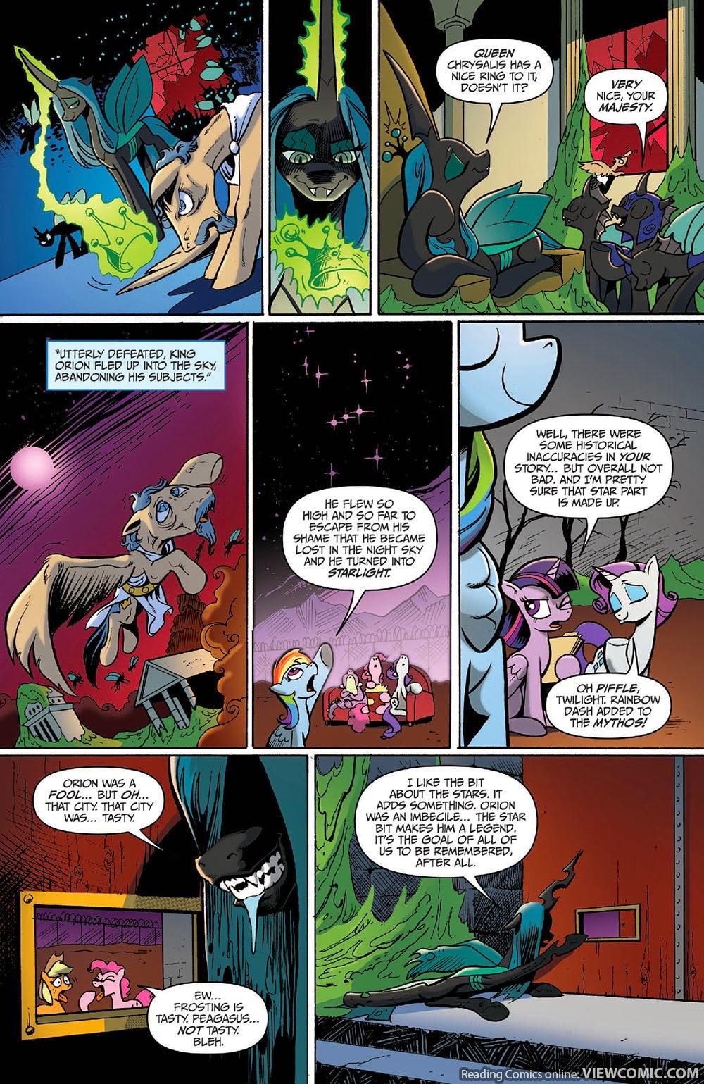My Little Pony – FIENDship is Magic – 005 Queen Chrysalis