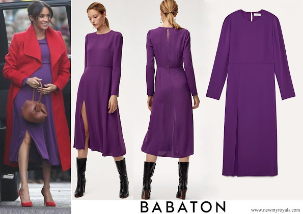 Meghan Markle wore ARITZIA Babaton Maxwell Dress