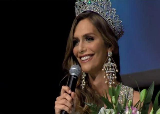Esta es la primera transexual en ganar el Miss Universo de España