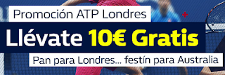 William Hill promocion Final del ATP de Londres