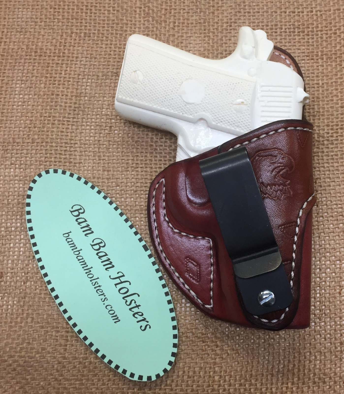 Bam Bam Holsters: Holster Build final part 4 / What's on the