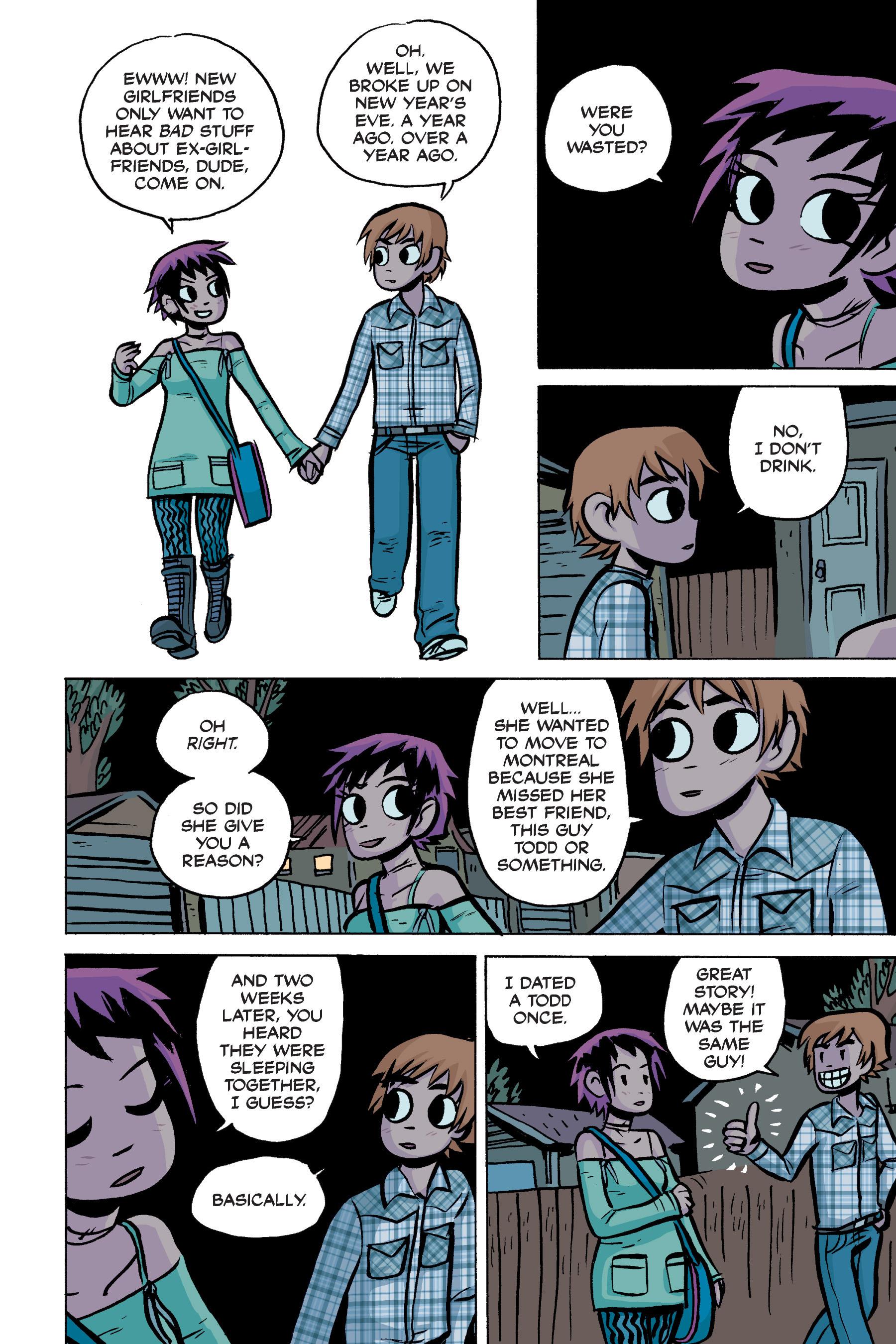 Read online Scott Pilgrim comic -  Issue #2 - 166