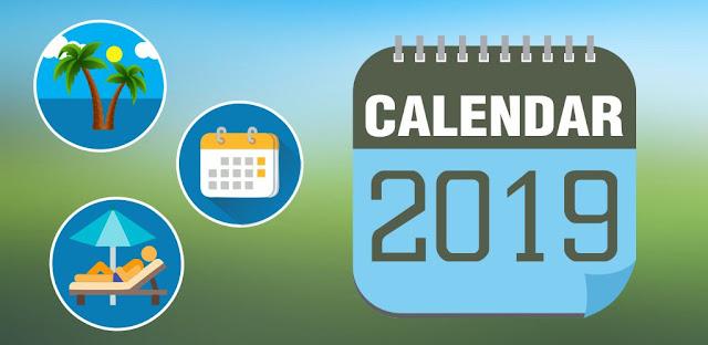 calendar 2019 image
