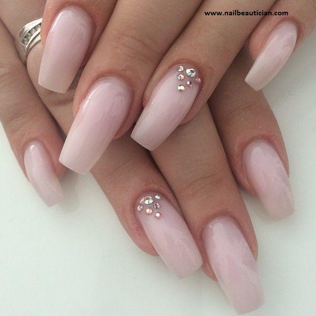 Hot pink Matte Nail Art