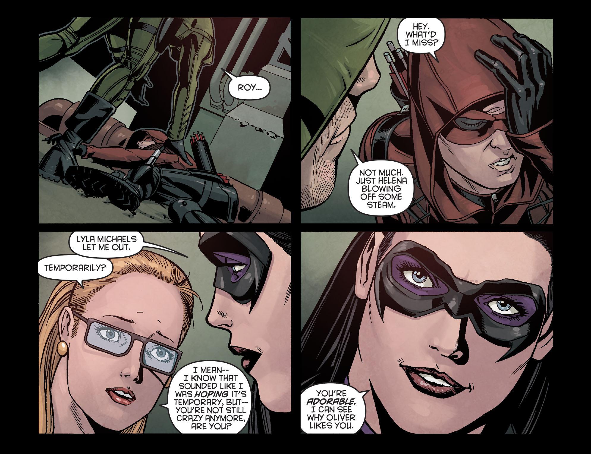 Read online Arrow: Season 2.5 [I] comic -  Issue #16 - 6