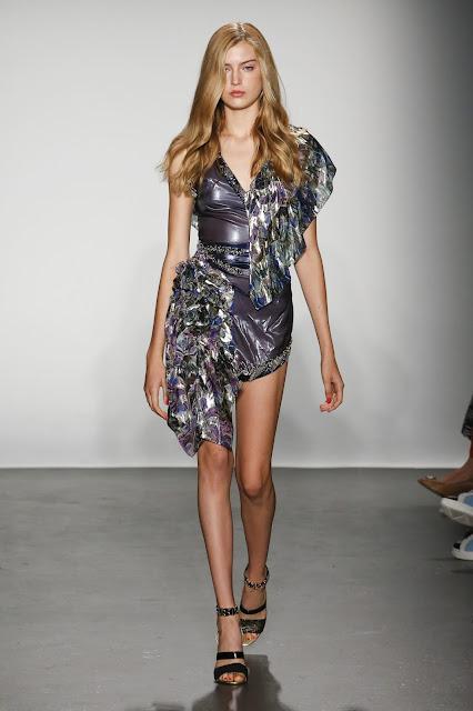Kelly Fountain Custo Barcelona Fashion Show SS19 Kelly Fountain Recap