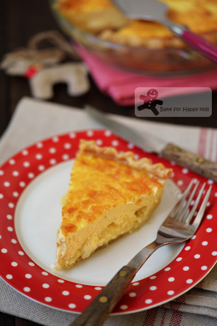 Madame Quiche's quiche au fromage cheese quiche