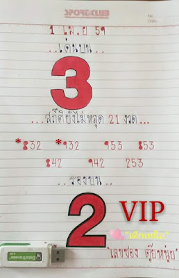 เลขเด็ด VIP เข้าทุกงวด 1/4/59