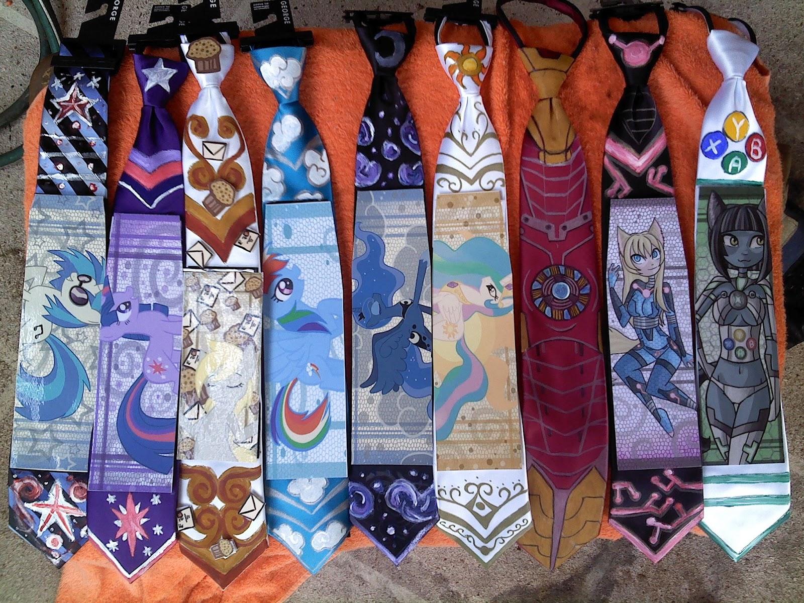 equestria daily mlp stuff amazing custom ties