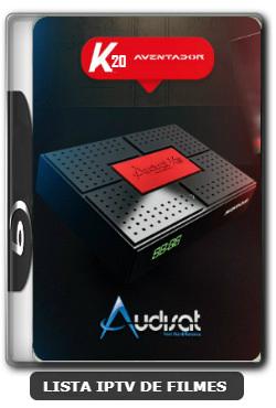 Audisat K20 Huracan nova atualização V2.0.44 adicionado 61w - 14/12/2019
