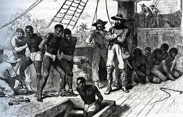 tráfico escravos