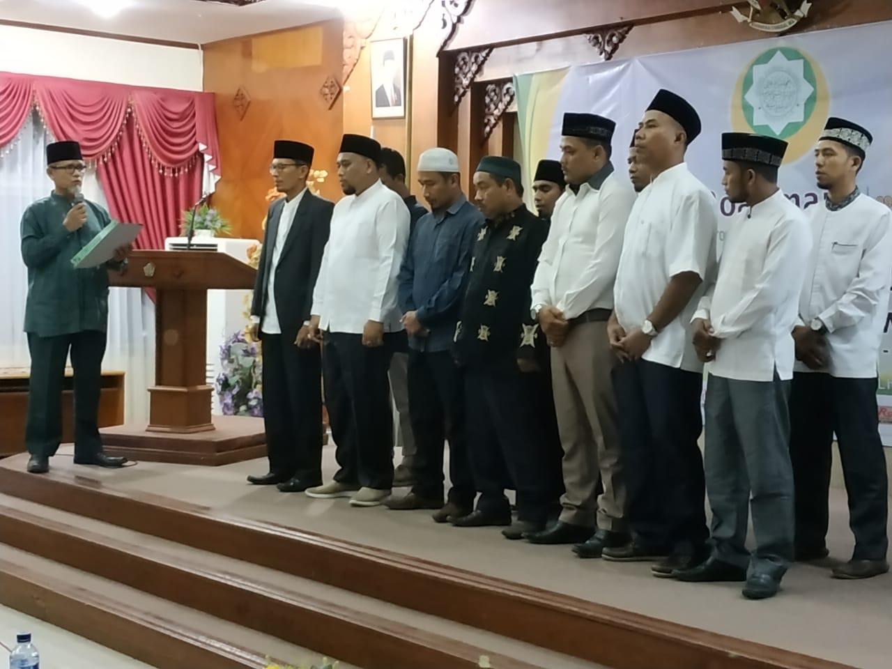 Lailan Fajri Saidina Pimpin Dewan Dakwah Lhokseumawe