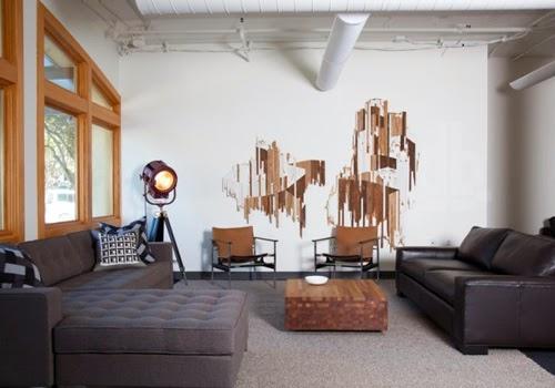 Desain Interior yang Menarik Dibalik Kantor Instagram