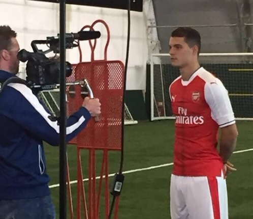 Official: Granit Xhaka to Arsenal