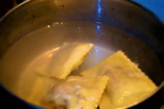 ricetta ravioli vegan radicchio
