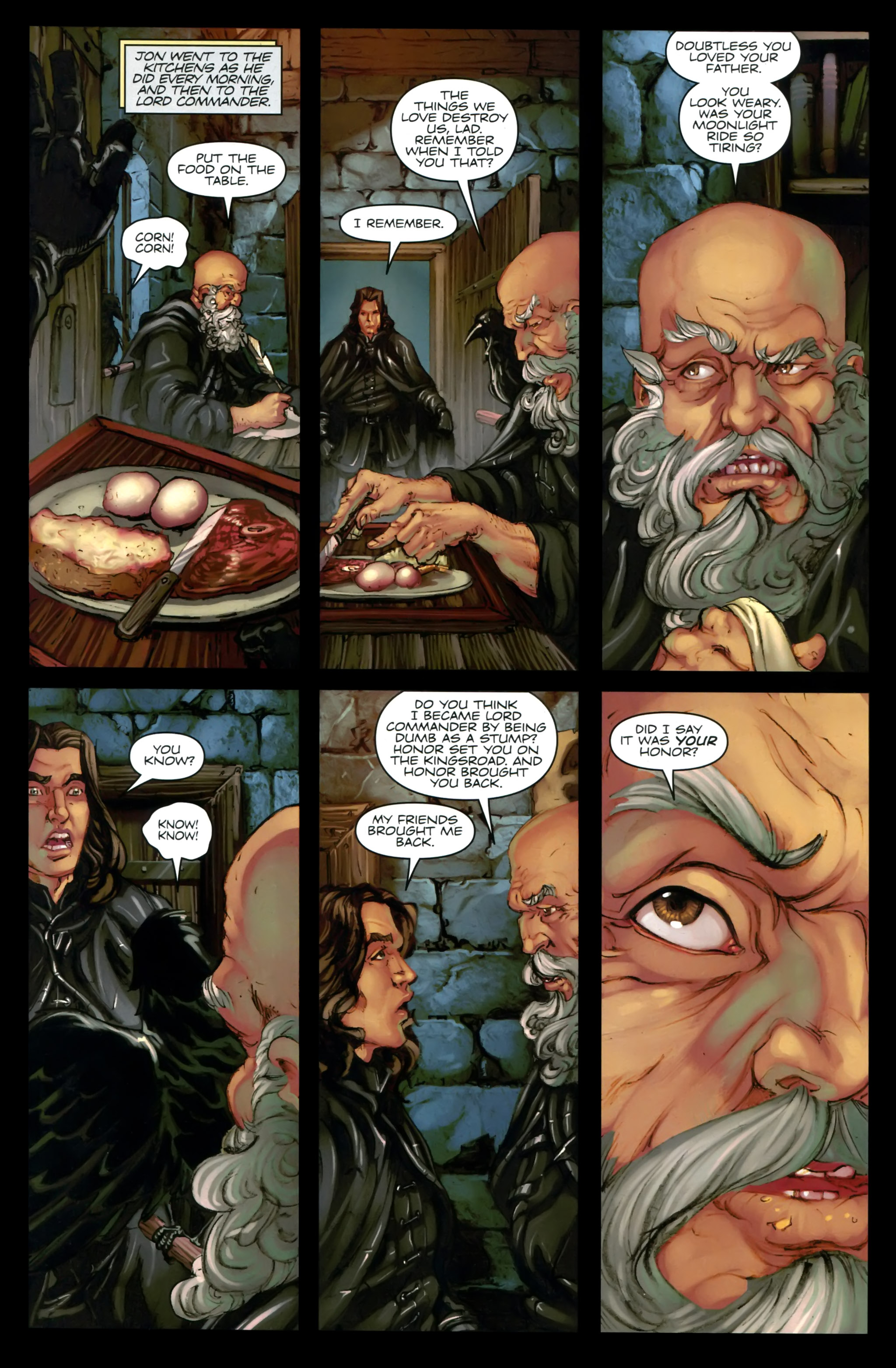 Read online A Game Of Thrones comic -  Issue #24 - 10