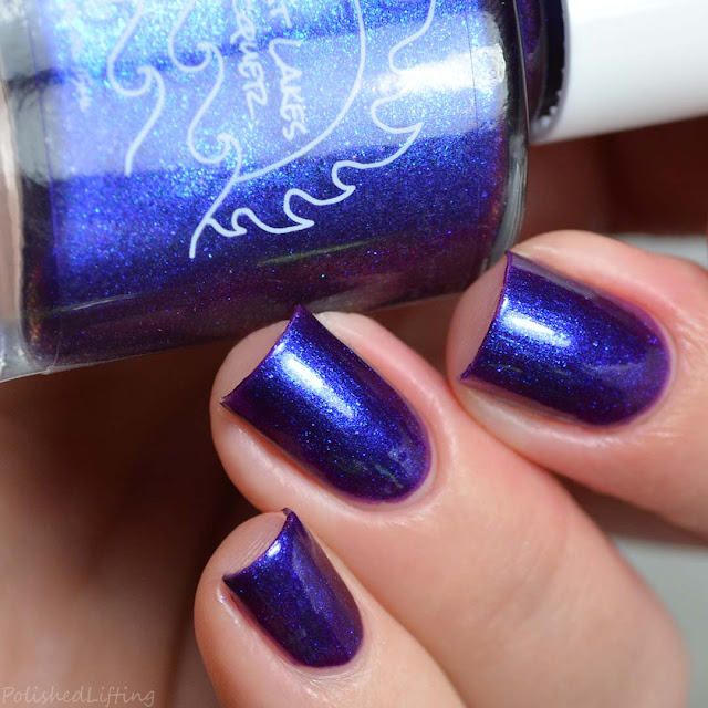 grape multichrome nail polish